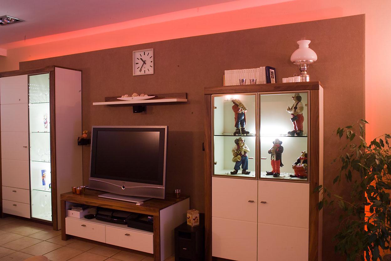 Mit Lichtdesign können Sie Räume individuell und jederzeit ganz einfach auf die gewünschte Stimmung anpassen