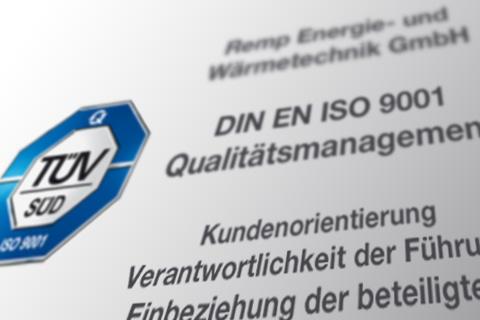 Zertifizierungen und Qualifizierungen
